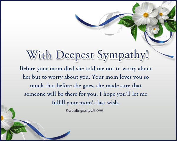 sympathy-wording-for-loss-of-mother