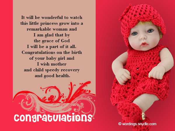 Congratulations messages for new baby girl wordings and messages congratulations messages for new baby girl 01 m4hsunfo