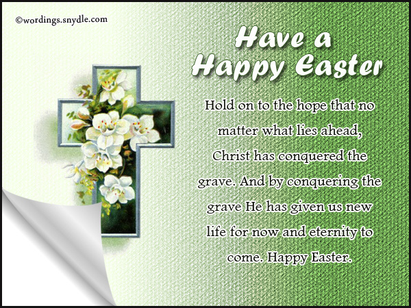 Religious easter messages and christian easter wishes wordings and best religious easter messages m4hsunfo
