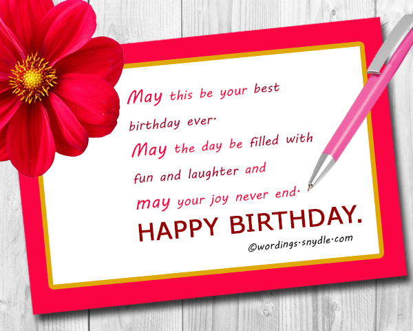 What To Write in a Birthday Card Wordings and Messages – Friend Birthday Card Messages