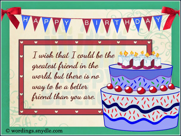 Birthday Wishes Card For Friend ~ What to write in a birthday card wordings and messages