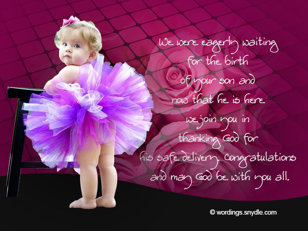 91c5adcff7906 Congratulation Messages for New Born Baby Boy - Wordings and Messages