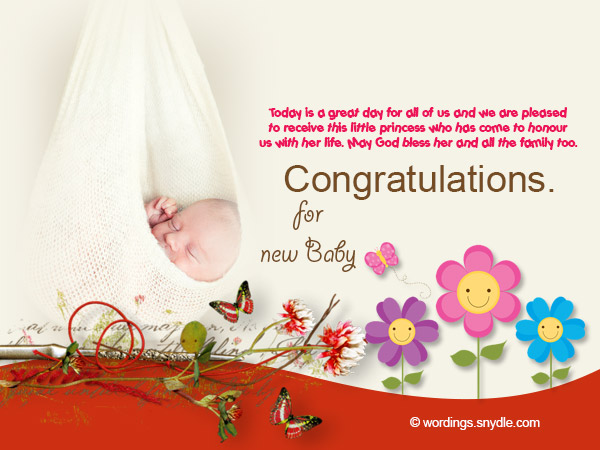 Congratulations messages for new baby girl wordings and messages congratulations messages for new baby girl 02 m4hsunfo Choice Image