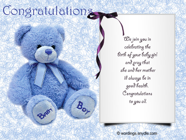 Congratulations messages for new baby girl wordings and messages congratulations messages for new baby girl 05 m4hsunfo