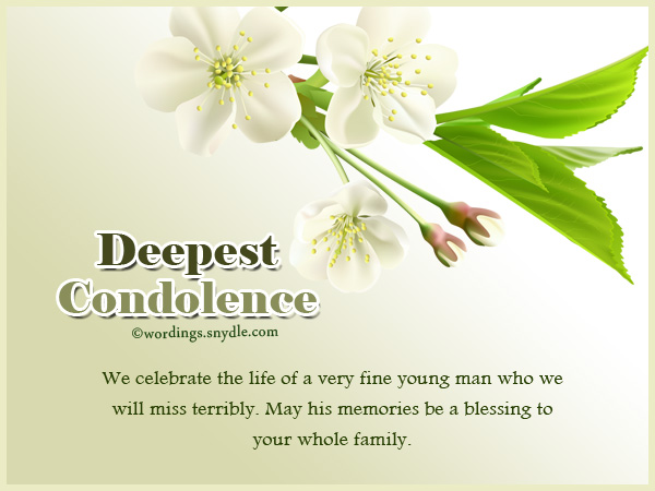 Deepest Condolences Messages