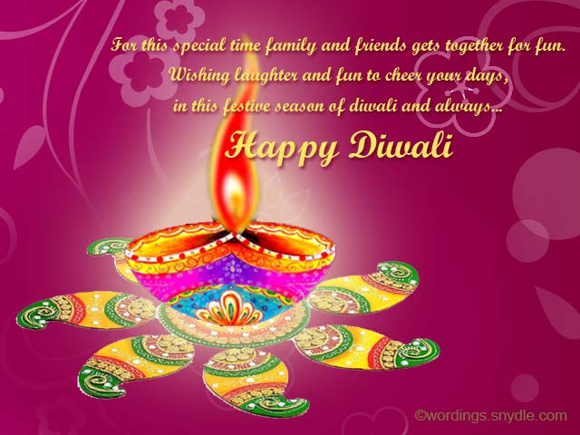 Best Diwali Wishes, Messages and Greetings - Wordings and Messages