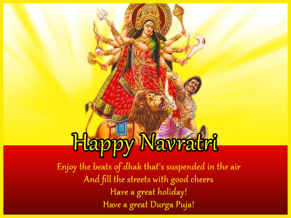 Durga puja wishes messages and greetings wordings and messages durga puja wishes greetings m4hsunfo
