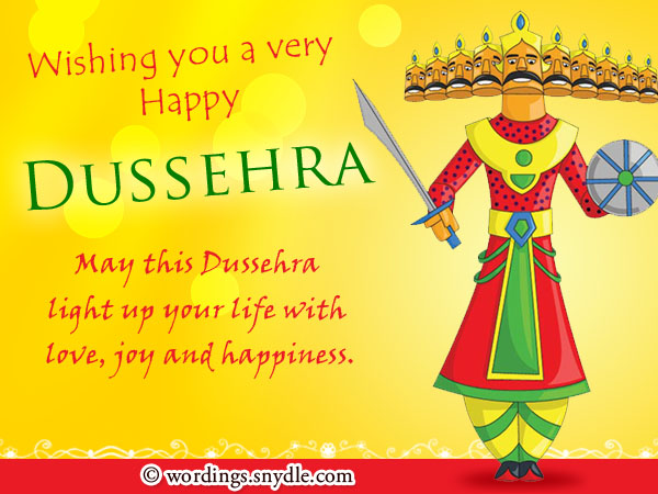 Dussehra wishes messages and sms wordings and messages dussehra greetings m4hsunfo
