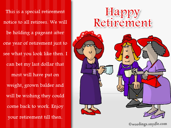 Funny retirement wishes and messages wordings and messages funny retirement wishes and messages m4hsunfo