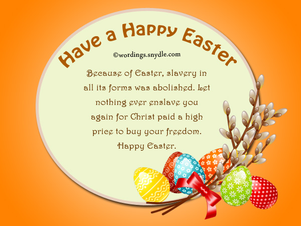 Religious easter messages and christian easter wishes wordings and good christian easter messages m4hsunfo