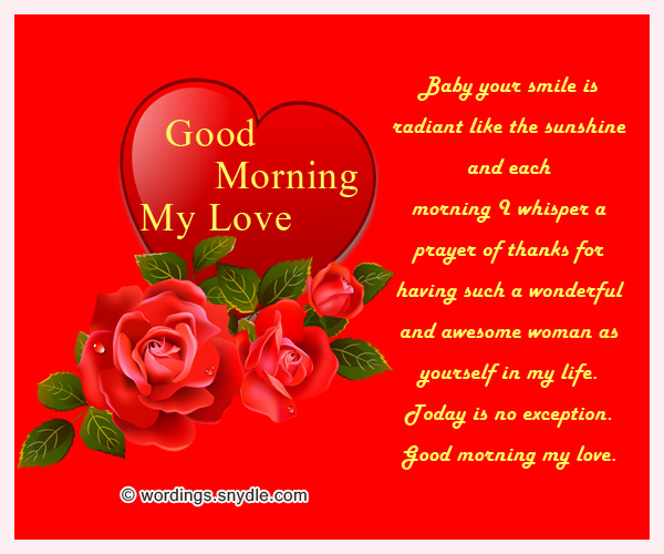 Romantic good morning messages wordings and messages romantic good morning messages m4hsunfo
