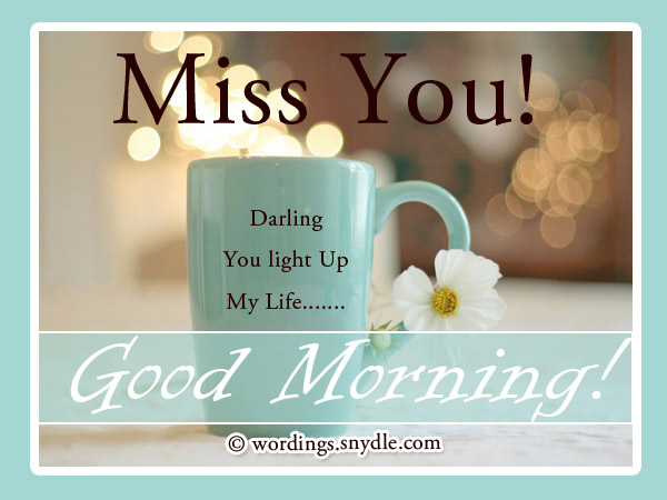 Good Morning Quotes Notes : Romantic good morning messages wordings and