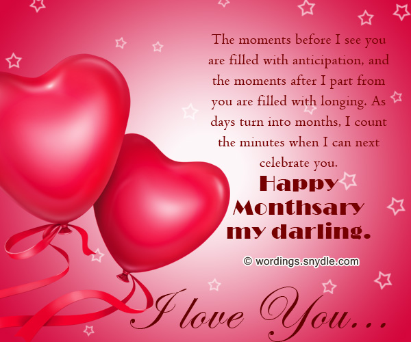 Happy monthsary messages for boyfriend and girlfriend wordings and happy monthsary messages m4hsunfo