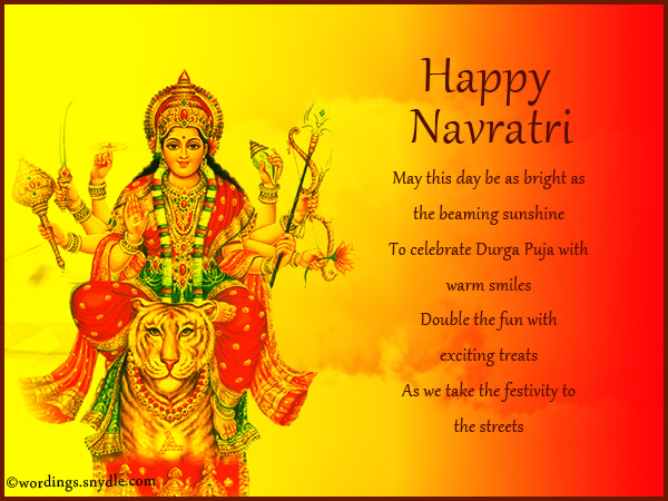 Durga puja wishes messages and greetings wordings and messages happy navratri greetings m4hsunfo