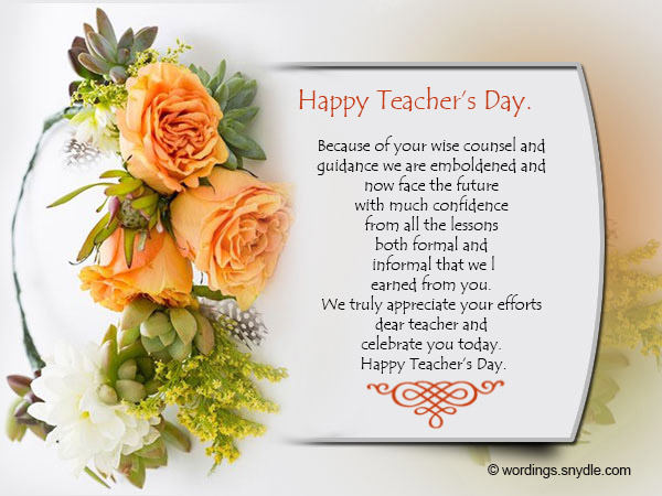 Happy teachers day messages and greetings wordings and messages happy teachers day wishes 02 spiritdancerdesigns Images