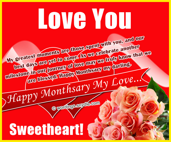 Happy monthsary messages for boyfriend and girlfriend wordings and happy monthsary monthsary messages for boyfriend m4hsunfo