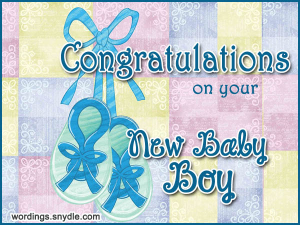 congratulation new baby boy