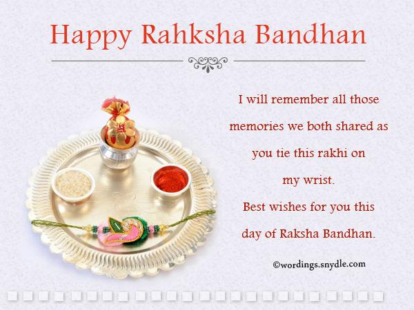 Happy raksha bandhan wishes greetings and messages wordings and raksha bandhan wishes messages m4hsunfo