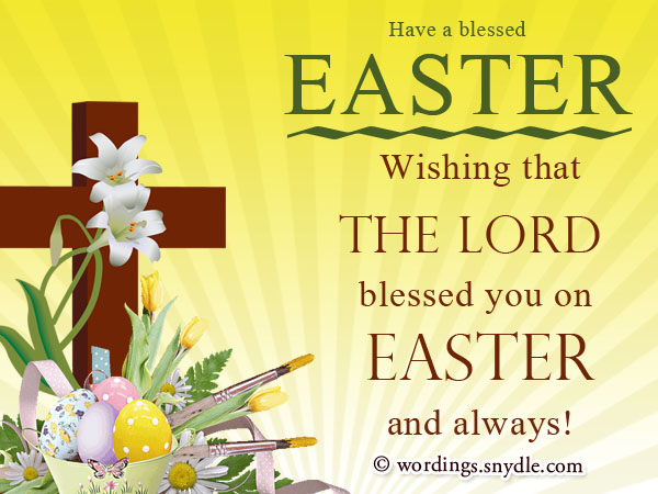 Religious easter messages and christian easter wishes wordings and religious easter cards m4hsunfo