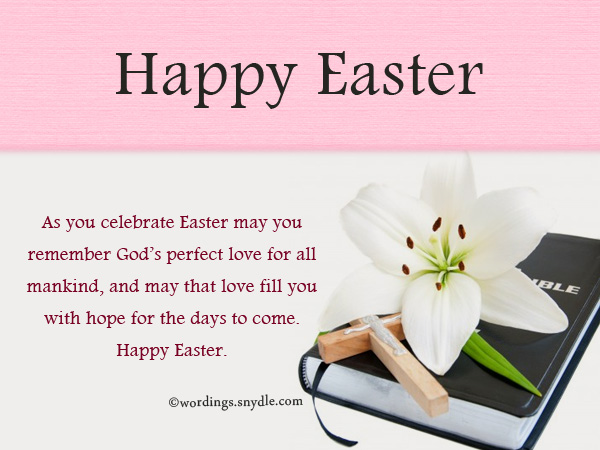 Religious Easter Messages and Christian Easter Wishes Wordings – Easter Messages for Cards