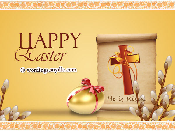 Religious Easter Messages and Christian Easter Wishes Wordings – Easter Card Messages