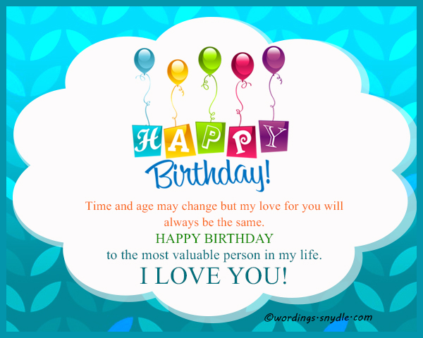 Birthday Wishes for Husband Husband Birthday Messages and – Birthday Cards for Husband with Love