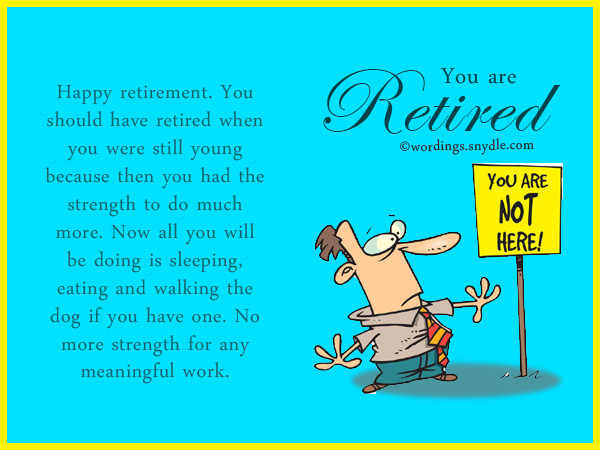 funny retirement invitations wordings | just b.CAUSE