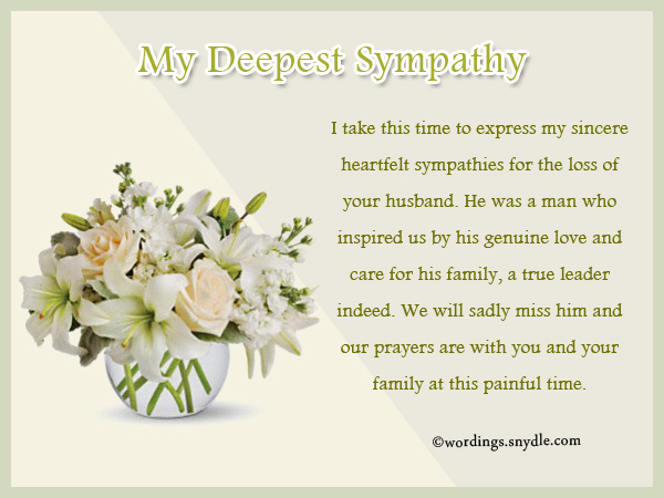 Sympathy messages for loss of husband wordings and messages sympathy messages for loss of spouse m4hsunfo Choice Image