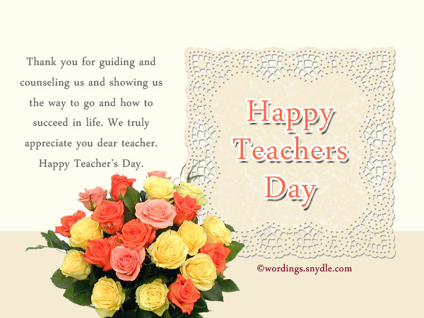 Happy teachers day messages and greetings wordings and messages teachers day wishes stopboris Choice Image