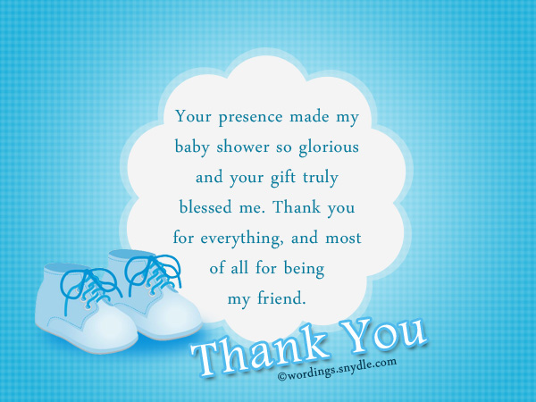 Thank You Messages for Baby Shower Gifts Wordings and Messages – Baby Shower Message