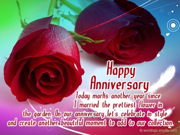 Wedding anniversary messages for wife wordings and messages wedding anniversary wishes for wife m4hsunfo