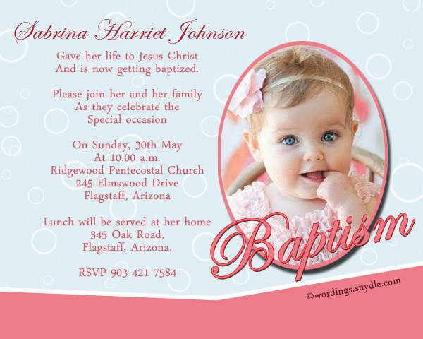 Write a christening card please touch