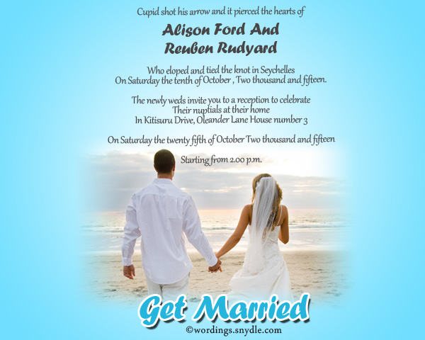 casual-wedding-announcement-wordings-sample