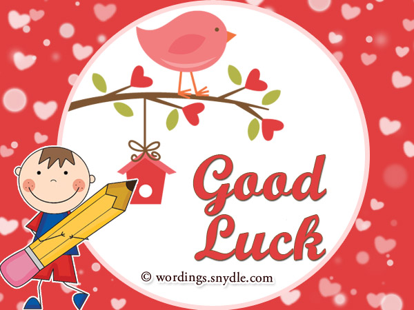Good Luck Cards  Exam Best Wishes Cards
