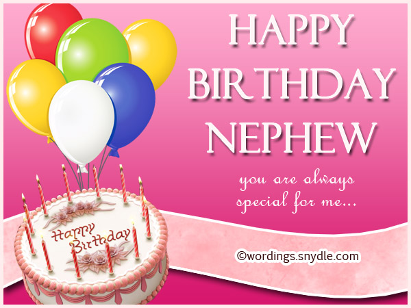 Nephew Birthday Messages Happy Birthday Wishes for Nephew – Birthday Cards for Nephew