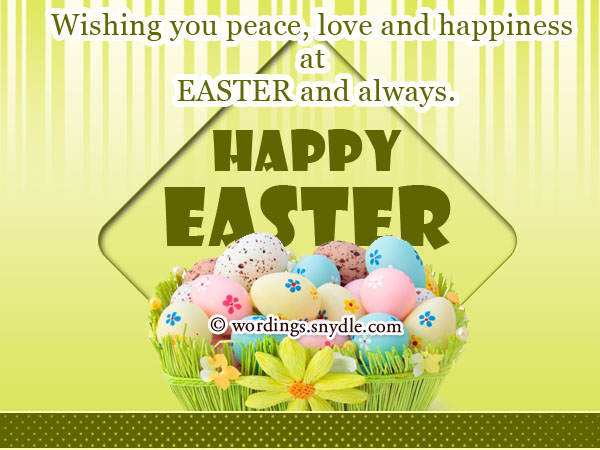 Easter Wishes Greetings and Easter Messages Wordings and Messages – Easter Messages for Cards