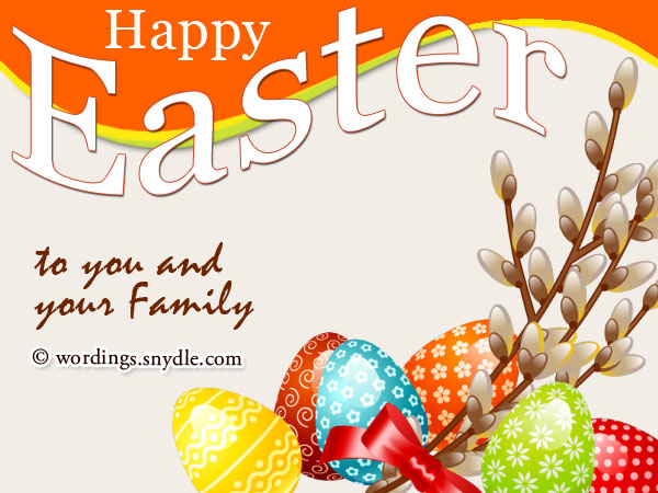 Easter Wishes Greetings and Easter Messages Wordings and Messages – Easter Greeting Card Sayings