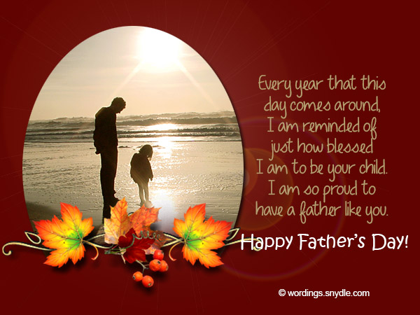 fathers day messages wordings and messages