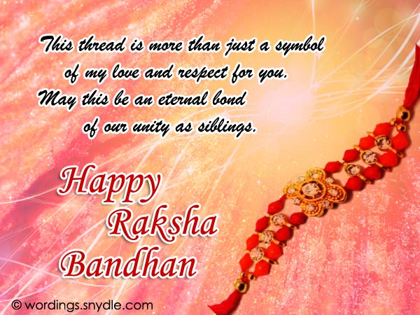 Happy raksha bandhan wishes greetings and messages wordings and raksha bandhan wishes m4hsunfo
