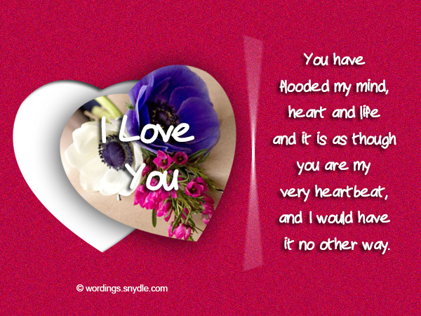 Romantic Messages for Him Wordings and Messages