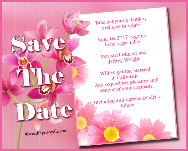 save-the-date-wordings