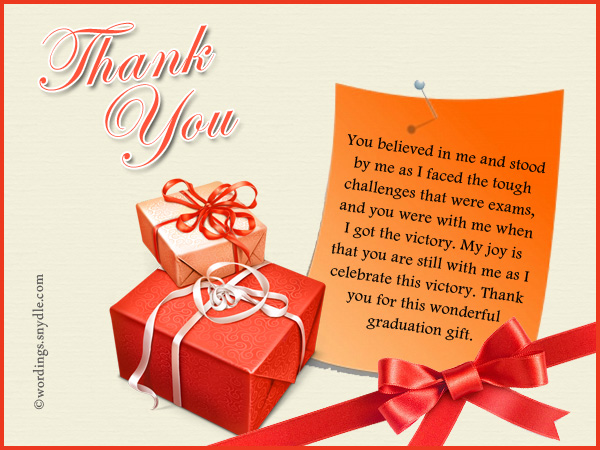 Thank you notes for gifts wordings and messages thank you notes for graduation gifts thecheapjerseys Image collections