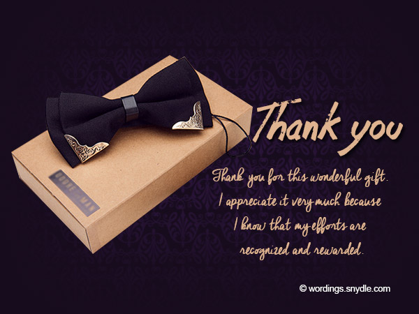 Thank You Notes For Boss  Wordings And Messages