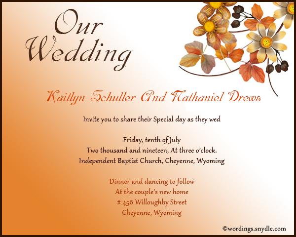 Informal wedding invitation wording samples wordings and messages wedding invitation greetings stopboris Gallery
