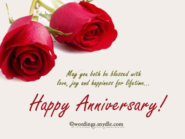 Wedding anniversary messages wishes and wordings wordings and anniversary greeting cards m4hsunfo