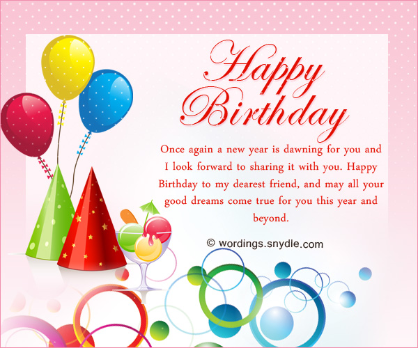 Birthday wishes for best friend forever wordings and messages best friend birthday messages m4hsunfo