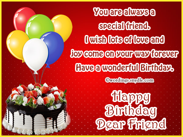 Birthday wishes for best friend forever wordings and messages birthday greetings for best friend m4hsunfo