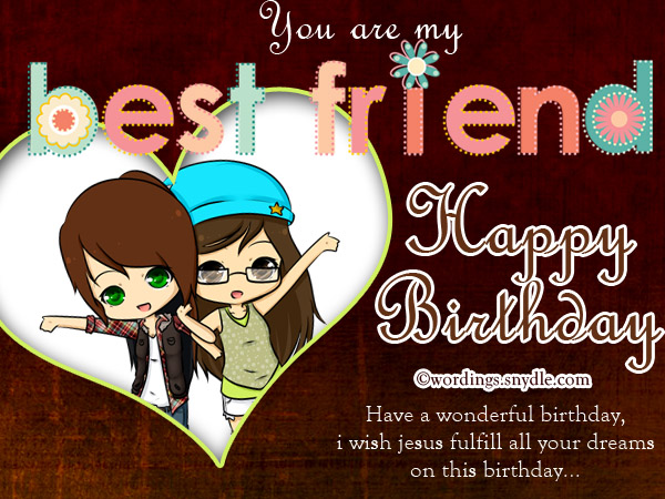Birthday wishes for best friend forever wordings and messages birthday wishes for best friend m4hsunfo