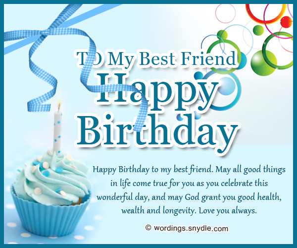 Birthday wishes for best friend forever wordings and messages happy birthday birthday wishes for best friend m4hsunfo