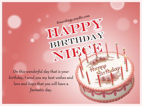 Happy Birthday Wishes for Niece, Niece Birthday Messages ...